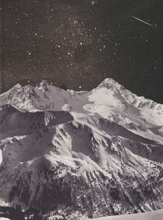 Stars, mountains