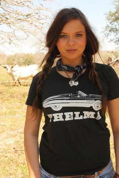 THELMA & LOUISE BLACK UNISEX - Junk GYpSy co.