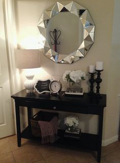 table is from the flower vase is from tj maxx the books. Black Bedroom Furniture Sets. Home Design Ideas