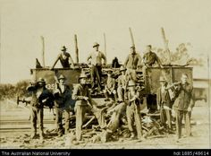 ANU - Digital Collections: Unemployed coalminers in a cooperative wood-getting venture 1930s, Pray, Sleep, Australia, Collections, History, Digital, Wood, Historia