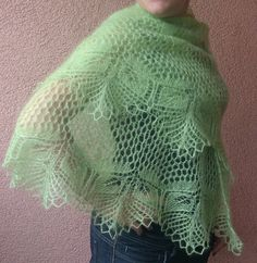 This is gorgeous! Papyrifera Shawl Free Knitting Pattern | Free Shawl and Wrap Knitting Patterns at http://intheloopknitting.com/free-shawl-wrap-knitting-pattterns/