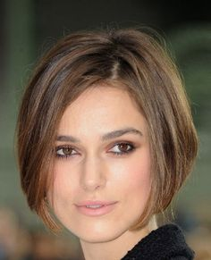 Keira Knightly has a hairstylist. I don't. Could I pull off something like this short do?