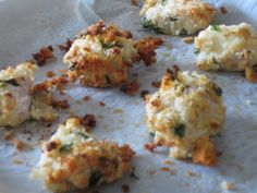 Garlic and Herb Chicken Nugget Recipe for babies and toddlers