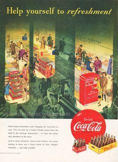 Coke Advertisement 1950 | by Retroarama