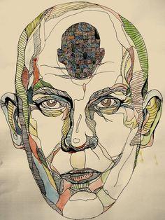artist's interpretation of being john malkovitch