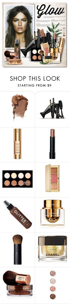 """""""Get Your Spring Glow On!"""" by defivirda ❤ liked on Polyvore featuring beauty, GHD, Sisley, Bobbi Brown Cosmetics, NYX, Estée Lauder, Christian Dior, NARS Cosmetics, Chanel and Vita Liberata"""