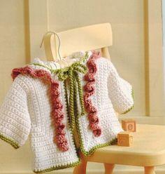 Surprise Crochet Sweaters for Baby - Crochet Pattern