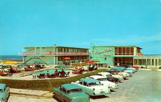 Ocean Park Motel - Ocean City, MD, 1950s