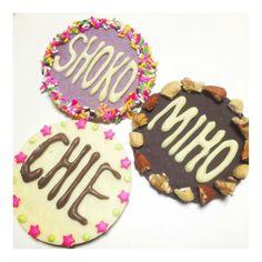 #友チョコ 2016 2.19 みんなで集まるから またまた作ったよぉーーん #HappyValentine #バレンタイン #valentine #バレンタインタインデー #ValentineDay #love #friends #バレンタインチョコ #手作り #handmade #手作りお菓子 #sweets #クーベルチュール #cacao #チョコレート #chocolate #whitechocolate # #yum #yummy #delicious #日本 #japan # #instafood #foodstagram by aya_o9