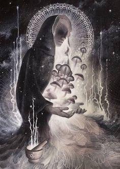 Let the Dark Goddess heal you.