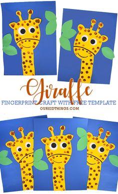 Safari Animal Crafts, Jungle Crafts, Giraffe Crafts, Zoo Crafts, Animal Crafts For Kids, Animals For Kids, Art For Kids, Toddler Crafts, Zoo Animals