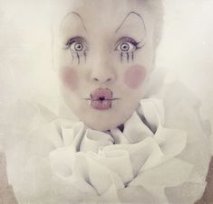 vintage clown makeup - Google Search