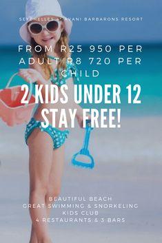 Seychelles Avani Resort from 950 per adult per child 2 kids under 12 stay FREE!