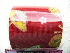 Japanese Fabric Cloth Tape Flower Umbrella by FromJapanWithLove, $5.00