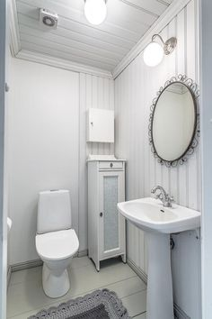 Furniture, House, Home, Bath, Bathroom Mirror, Round Mirror Bathroom, Bathroom, Toilet, Mirror