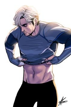 AYEE I should not have pinned this...but I couldn't help myself. I've never been attracted to Quicksilver in the comics (except for a few depending on the artist) but he was HAWT in the movie.