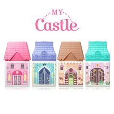 [Etude House] My castle handcream (4types)