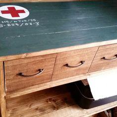 100均木材とプラかごで棚に引出しをDIY   SNG LABORATORY +