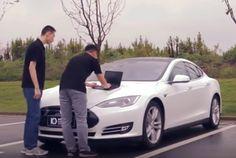 Chinesische Hacker entdecken Sicherheitslücken im Tesla Model S (Video)