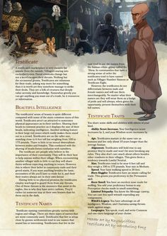 Homebrew material for edition Dungeons and Dragons made by the community. Dungeons And Dragons Races, Dnd Dragons, Dungeons And Dragons Homebrew, Dnd 5e Races, D D Races, Dnd Characters, Fantasy Characters, Dnd Classes, Create Your Own Adventure