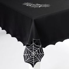 Halloween Wicked Web Cut Out Tablecloth (60in X 102in) by The Midnight Market, http://www.amazon.com/dp/B00AVDNN3C/ref=cm_sw_r_pi_dp_Ckixrb0WMDZXT