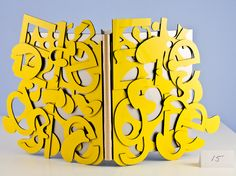 Typographic book cover