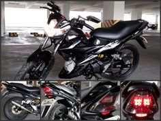Kawasaki Fury 125R AX-R Simple Modification: Corsa Tires, HGM Exhaust Pipe, LED Taillights by: HID RetroFit, KOSO Side Mirror, NGK Power Cable, NGK Iridium Spark Plug, Namban Racing Ignition Coil