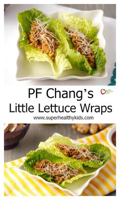 Asian lettus wraps