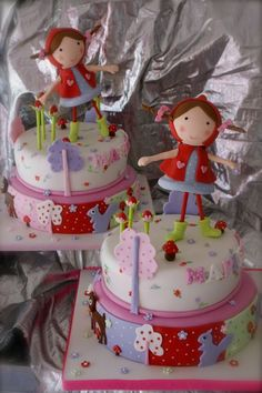little red riding hood cakes