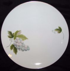 Noritake MARCELLE 619 Lot of 6 Bread & Butter Plates RC Backstamp Dinnerware Excellent Condition by libertyhallgirl on Etsy