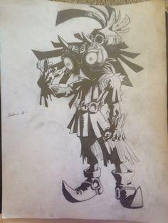 Skull Kid from Legend of Zelda: Majora's Mask