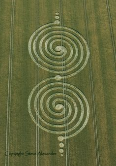 Crop Circle at Windmill Hill, Wiltshire : 13th July 2011