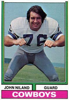 Top 50 Dallas Cowboys of All Time - No. 28: John Niland (OG, 1966-1974) #Dallas #Cowboys #NFL #DallasCowboys #CowboyNation #HowBoutThemCowboys