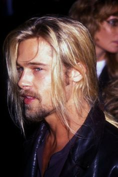 Brad Pitt: The original hot vampire.