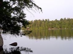 Eagle Island Camp, Upper Saranac Lake, Adirondacks. Built in 1899 for Levi Morton, New York governor and Vice President of the United States under President Benjamin Harrison. It was part of the mainland Great Camp Pine Ledge.