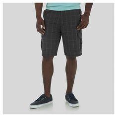 Wrangler Men's Cargo Shorts Plaid