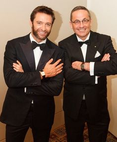 """Hugh Jackman, who plays Jean Valjean in """"Les Miserables,"""" is often seen wearing a Girard Perregaux Vintage 1945 in his everyday life."""