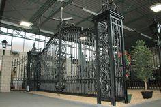 Wrought Iron Gates Showroom, installers & supply only showrooms Manchester, Birmingham, Lancashire GatesIron