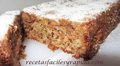 Plum cake de manzana y nueces - Fácil - 40 Min.