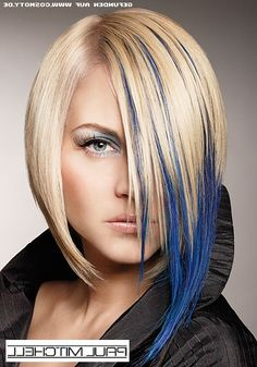 The only reason I would ever want to be blonde is so that I could have fun colors easily and healthily.