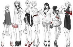 Anime Fashion.: More