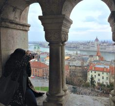 View from the top of Castle Hill, Budapest