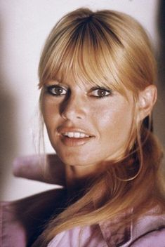 Brigitte Bardot in one of the rare moments she wore a ponytail.
