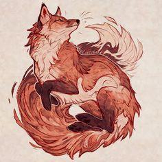 Redraw 2018 vs 2017 . . #redraw #fox #foxes #redfox