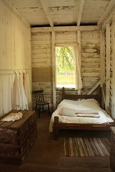 Wow factor rustic bedroom.