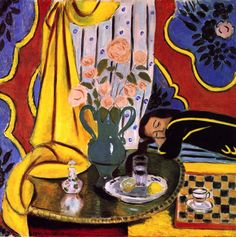 Henri Matisse ~ Harmony in Yellow, 1927-28
