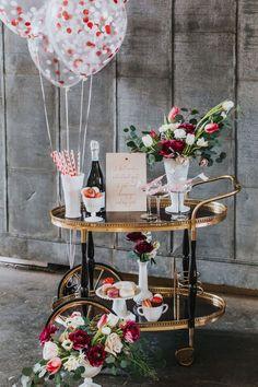 Have a look at our bar cart inventory at Orange Trunk Vintage Styling & Rentals bar cart // bar carts // vintage rentals // vintage bar cart // vintage style // bar cart envy // event rentals // bar cart rental // wedding decor // elegant decor Spring Wedding Decorations, Spring Weddings, Table Decorations, Bar Drinks, Drink Bar, Vintage Bar Carts, Bar Cart Styling, Spring Wedding Inspiration, Vintage Furniture