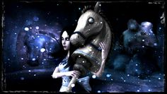 Hobby Horse Through Tundraful by jagged66.deviantart.com on @deviantART
