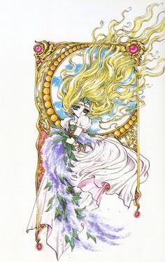 CLAMP, Magic Knight Rayearth, Emeraude, Official Art