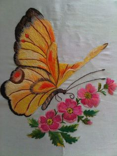Embroidery Patterns Baby Quilts one Embroidery Patterns Alphabet Free via Embroidery Business regarding Embroidery Designs Horses one Embroidery Stitches Module Embroidery Flowers Pattern, Butterfly Embroidery, Flower Embroidery Designs, Hand Embroidery Stitches, Crewel Embroidery, Machine Embroidery Designs, Embroidery Patterns, Bordado Floral, Brazilian Embroidery